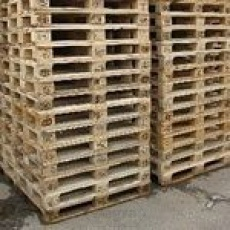 Gebruikte Pallets