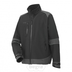 BARCELONA SoftShell Jacket 999 Black/Dar