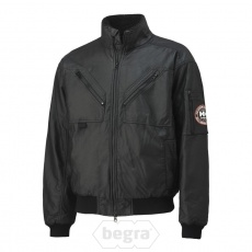 BERGHOLM Leather Pilot Jacket 990 Black