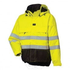 LUDVIKA Jacket 369 Yellow/Charcoal - Hel