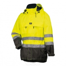 LUDVIKA Parka 369 Yellow/Charcoal - Hell