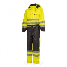 LUDVIKA Suit 369 Yellow/Charcoal - Helly