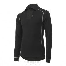 ROSKILDE Polo Zip 990 Black - Helly Hans
